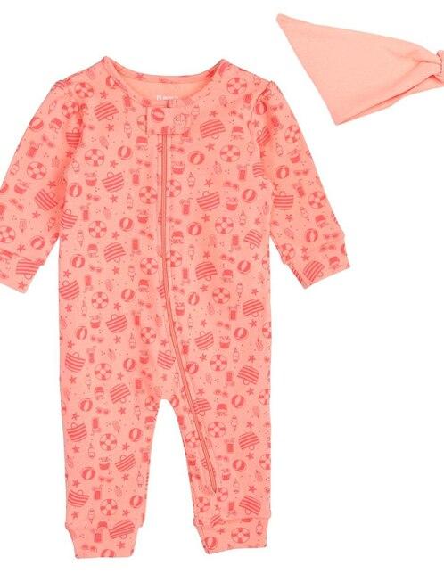 985554e3e Mameluco con diseño gráfico Bolo algodón para bebé