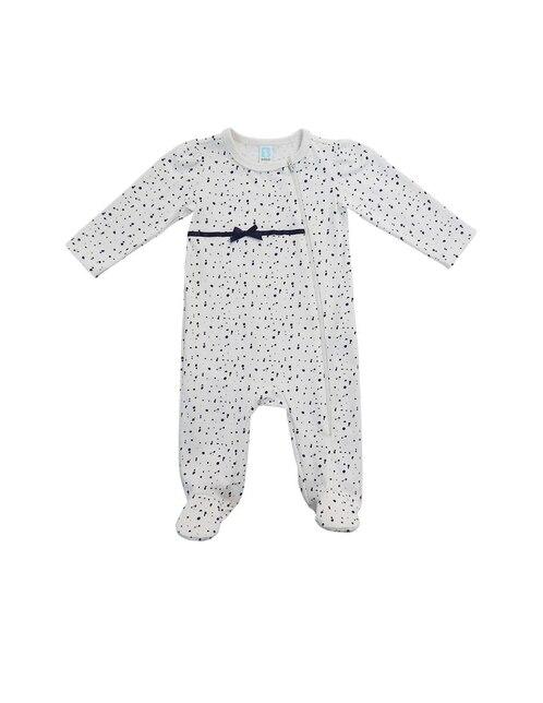 105c7adbd Mameluco con diseño gráfico algodón para bebé