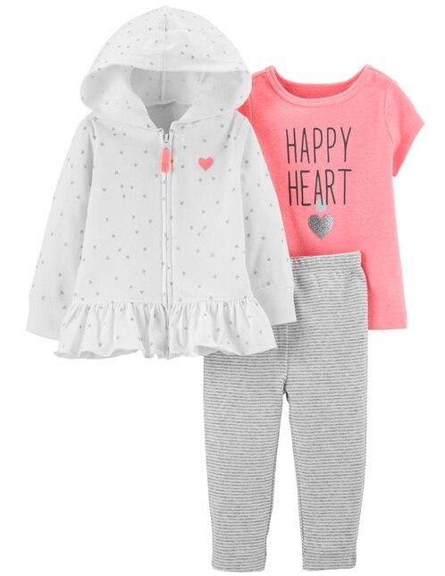 Conjunto Carter s algodón para niña bebé fdabbf240e4