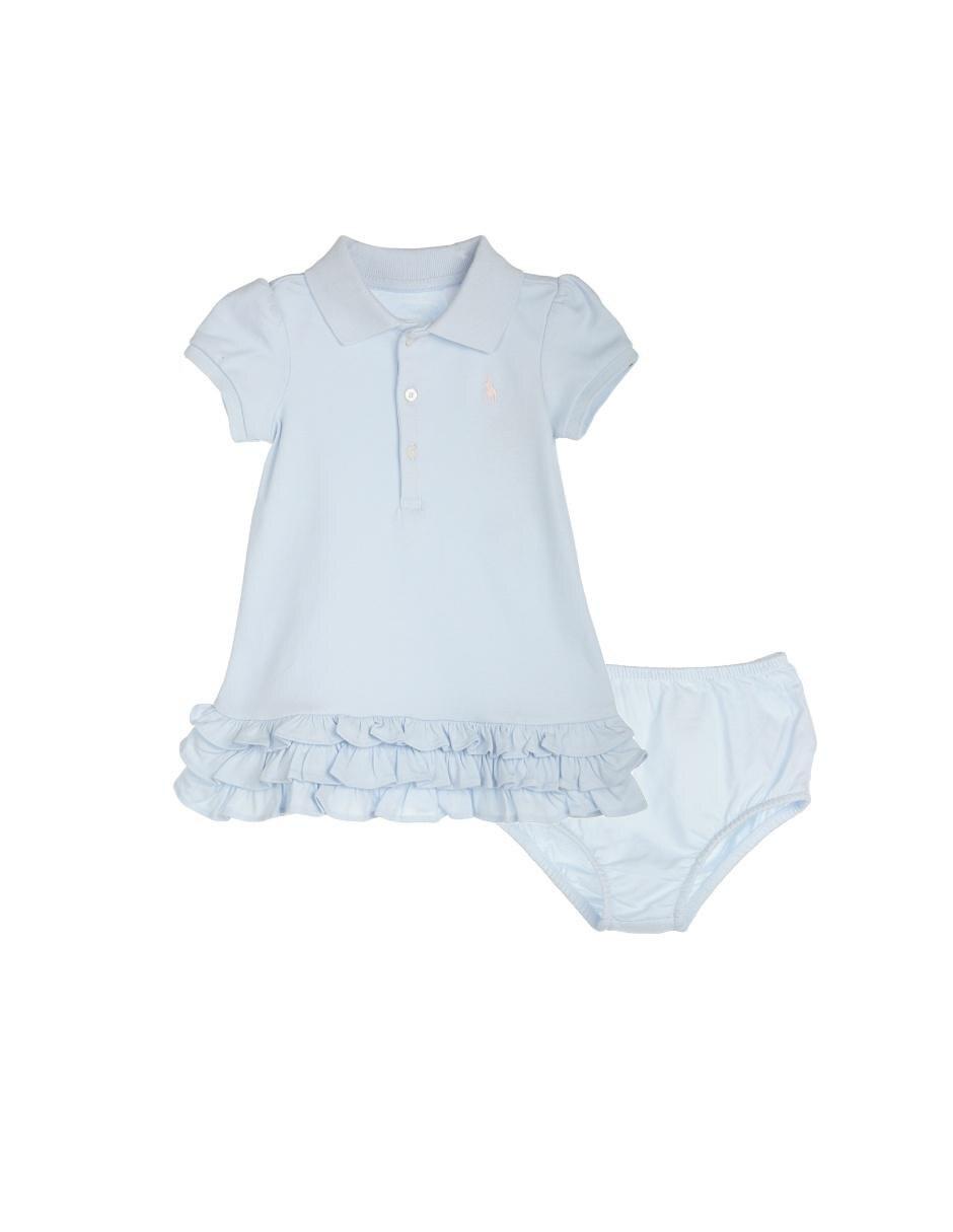 445a3679de Vestido liso Polo Ralph Lauren algodón para bebé Precio Sugerido